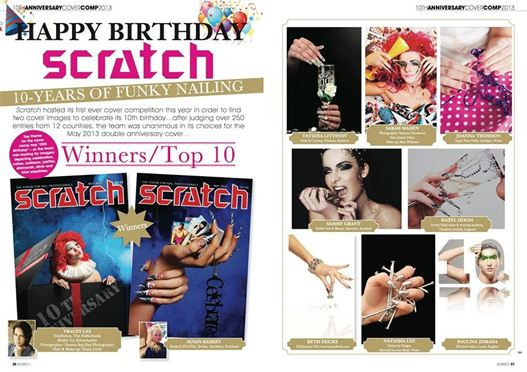 Scratch Magazine Nail Award Winner Chester
