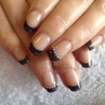 Swarovksi Shellac Nails
